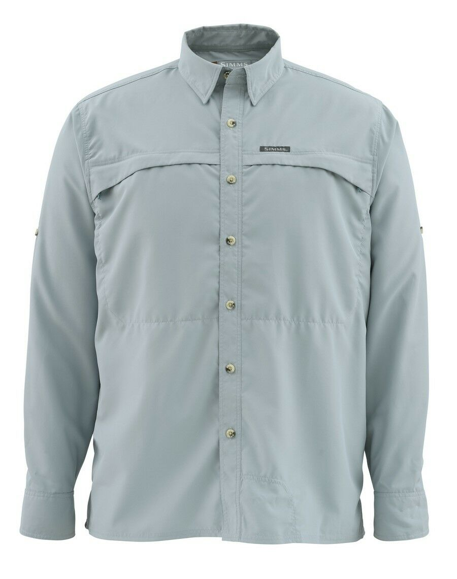 Simms STONE COLD Long Sleeve Shirt  NEW  Heron   2XL  CLOSEOUT  hastened to see