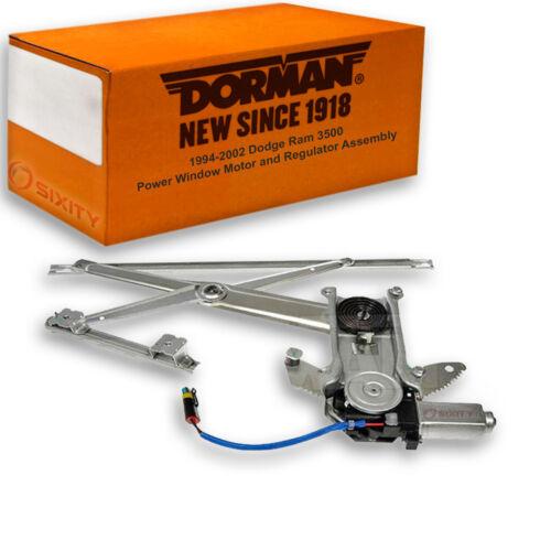Dorman Front Left Window Motor and Regulator Assembly for Dodge Ram 3500 mt