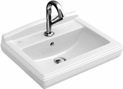 Villeroy Boch Hommage Waschtisch Handwaschbecken 50cm Weiß C-Plus Waschbecken