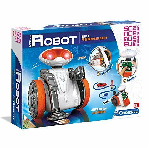 CLEMENTONI SCIENCE MUSEUM Mio The Robot Scientific Kit To Build A Real Robot