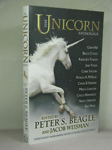 1st Signed By 6 Eds Aus The Unicorn Anthology Edby Peter S Beagle