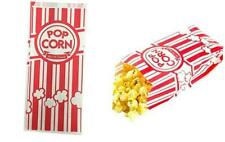 Paper Popcorn Bags 1 Oz Red Amp White 100 Pieces