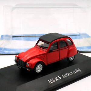 IXO-Altaya-Citroen-IES-3CV-America-1986-1-43-Diecast-Models-Limited-Edition-Toys