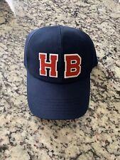 HENRI BENDEL HAT ~ HB BASEBALL CAP NAVY BLUE ADJUSTABLE NWT 9acfc7e60b1