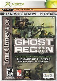 Tom Clancy's Ghost Recon (Microsoft Xbox, 2002) USED