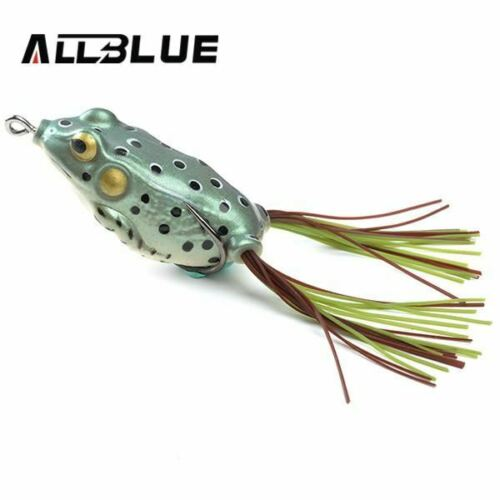 ALLBLUE Kopper Live Target Frog Lure 58mm//12g Snakehead lure leurre Simulatio