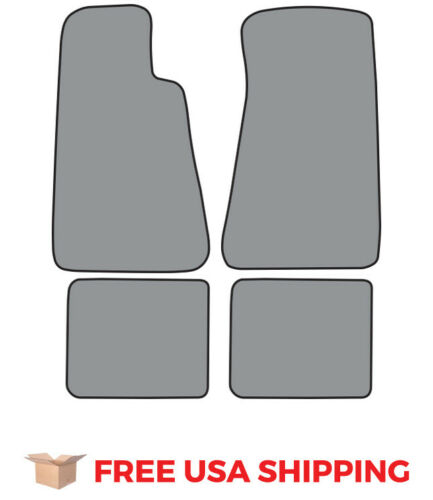 FITS 1994-1996 Chevrolet Impala Floor Mat without Snaps 4pc Cutpile