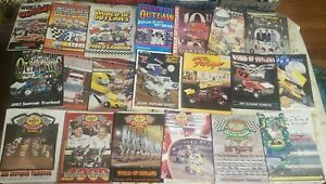 WORLD OF OUTLAWS SPRINT CARS ANNUAL YEAR BOOKS 1984 - 2004 SEE DESCRIPTION.