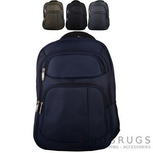 e39dd7caa8f Image is loading Ladies-Mens-Travel-Laptop-Business-Hand-Luggage-Backpack-