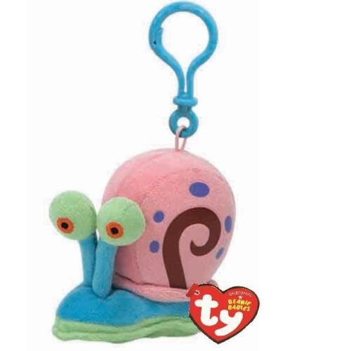 Ty Beanie Babies 40695 Spongebob Squarepants Gary The Snail Key Clip