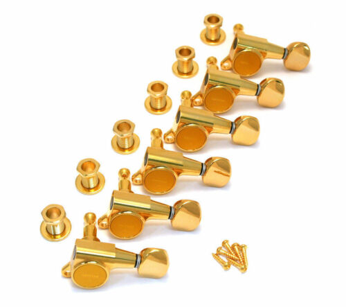 NEW Gotoh Gold Sealed 6 Inline Mini Tuners for Strat//Tele® Guitar TK-0760-002