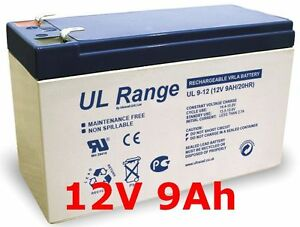 Qp12-8.5 Akku Ersatzakku Batterie 12v 9ah Sinnvoll Q-power Qp12-7.2 Qp12-8 Qp12-7.5