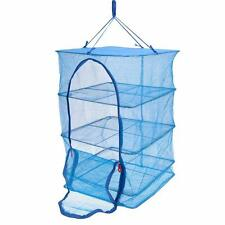 4 layers Drying Rack Folding Hanging Clothes Laundry Sweater Dryer Net Z1U4