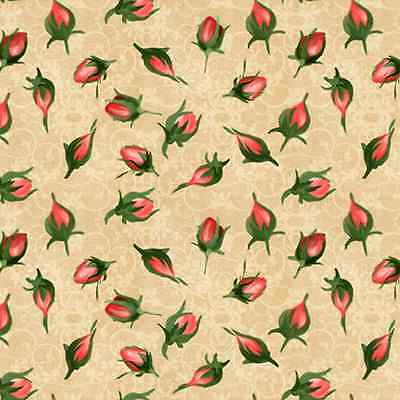 Bouquet Moderne South Sea Imprts Scattered Pink Rose Buds (35 inches)