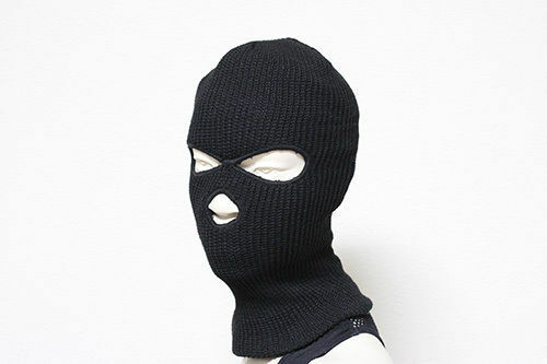 096ca7bb9cc 3 Hole Full Face Ski Mask Beanie Cap Mens Womens Hat Black Winter Balaclava  Hood Black for sale online