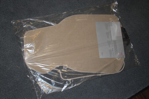 Original Audi A6 4B Textil Fußmatten 1 Paar vorn beige 4B1.061.325.E.92J NEU