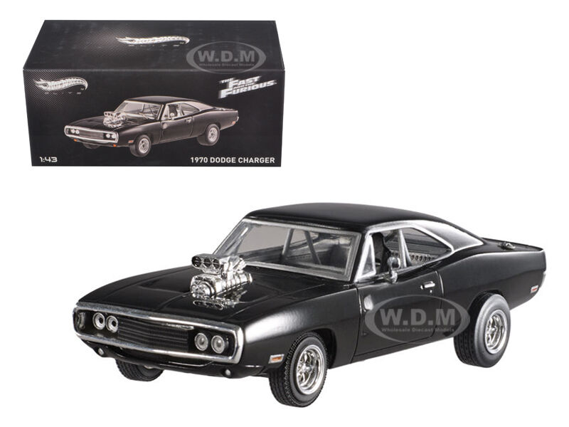 1970 DODGE CHARGER ELITE  THE FAST & FURIOUS MOVIE 2001 1 43 BY HOTWHEELS BLY27