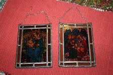 Religious Christianity Miniature Stained Glass Window Sun Catchers-Mary Jesus-