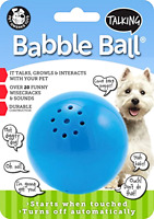 Pet Qwerks Talking Babble Ball Dog Toy For Medium Dogs