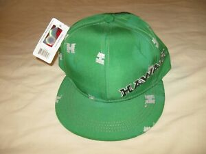 46e308af137 Hawaii Rainbow Warriors Hat Cap New W Tags Men s One Size UH NCAA ...