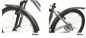 Zefal Classic Mudguard Set Adjustable Steel Bracket Techno Polymer Resin