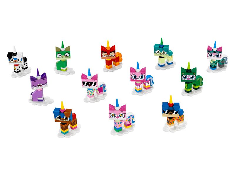 NUOVO LEGO 41775 Unikitty serie 1 set completo con 12