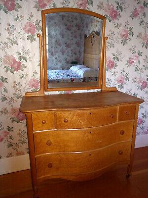 Antique Birdseye Maple Bedroom Set 2, Birds Eye Maple Furniture
