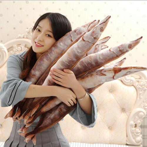 Cartoon Soft Plush Fish Pillow Kawaii Funny Gift plush doll soft throw pillow YJ
