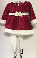 Holiday Edition Girls Infant Red Dress Size 0/3 Months Burgundy Valentine