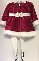 Holiday Edition Girls Infant Red Dress Size 0/3 Months Burgundy Valentine