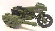 GI Joe 1982 RAM Rapid Fire Motorcycle 100% Complete w Kick Stand Vehicle