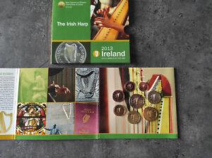 Coffret Euro BU Irlande 2013 The Irish HARP Coinage Neuf Bank Ireland RAR