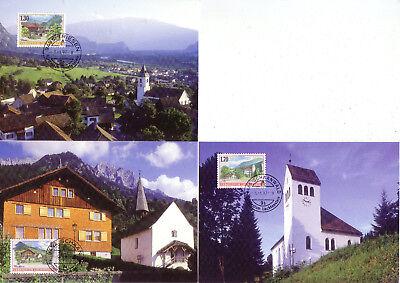 europa:15540 Aromatischer Charakter Und Angenehmer Geschmack Verantwortlich Liechtenstein Mk 149 Michelnummer 1148-1150