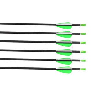 "12X31/"" Fiberglass Arrows Outdoor Archery For Recurve Bow Practice Target"