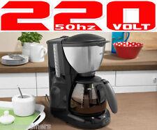 Braun KF570 NEW 220 Volt 10-Cup Coffee Maker 220v 1100W EU Plug