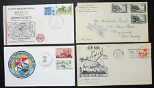 US Postage Set of 4 Covers Letters Philatelic Helicopter Lupo USA Briefe (H-8345
