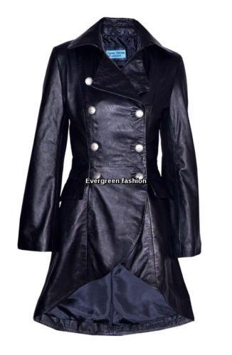 rockstar donna in stile da con Cappotto pelle scamosciata edera cinturino ed vera all'americana wPOXZilkuT