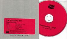 THE KISSAWAY TRAIL Sleep Mountain 2010 UK 12-trk promo test CD