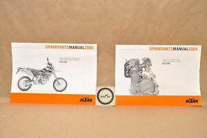 2004 KTM 625 SMC LC4 Motor Engine Chassis Part List Diagram Manual Lot    eBayeBay