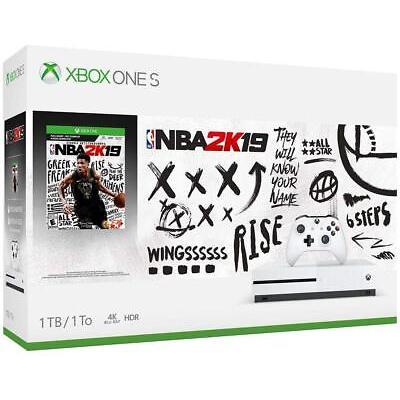 Xbox One S 1TB Console - NBA 2K19 Bundle Brand New