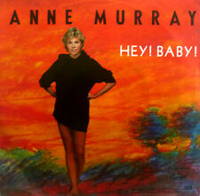 "7"" 1982 CV BRUCE CHANNEL ANNE MURRAY : Hey Baby /MINT-"