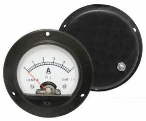 5A-ANALOGUE-AMMETER-ROUND-FOR-65MM-HOLE-BUILT-IN-SHUNT-SOLAR-WIND-ANALOG