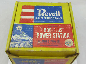 Vintage-Revell-800-Plus-Power-Station-Type-A-HO-Scale-w-Box