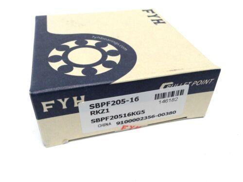 9100002356-00380 RKZ1 Bullet Point SBPF20516KG5 FYH Bearing Units SBPF205-16