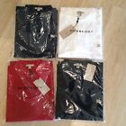 Burberry Brit men's short sleeve nova check placket polo shirt S,M,L,XL