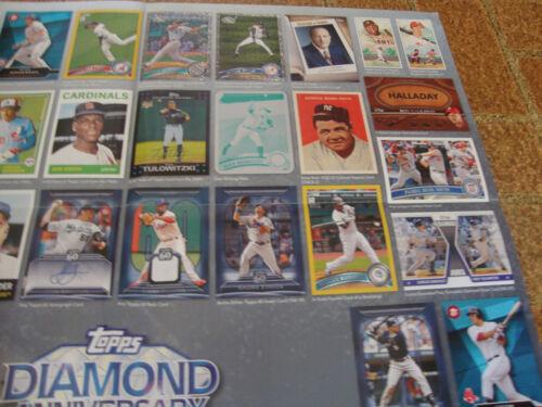 2011 Topps Baseball---Diamond Anniversary---Poster---24x36---In-Store Display