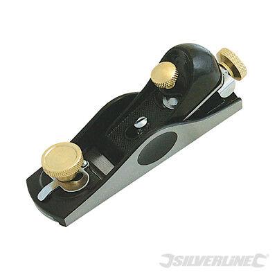 Silverline ~ Einhandhobel Nr. 2 41x 1mm (Messer) Grauguss 633569