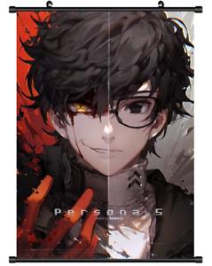 Hot-Japan-Game-Persona-5-Ren-Akira-Poster-Wall-Scroll-Home-Decor-8-034-12-034-F53