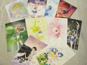 SAILOR-MOON-Postcard-Set-NAOKO-TAKEUCHI-Exhibition-Ltd-Art-Book