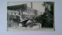 WW1 Marxuil Pas-de-Calais France B&W 1915 Postcard Factory Bridge post shelling